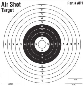Finding The Best Air Gun Paper Targets